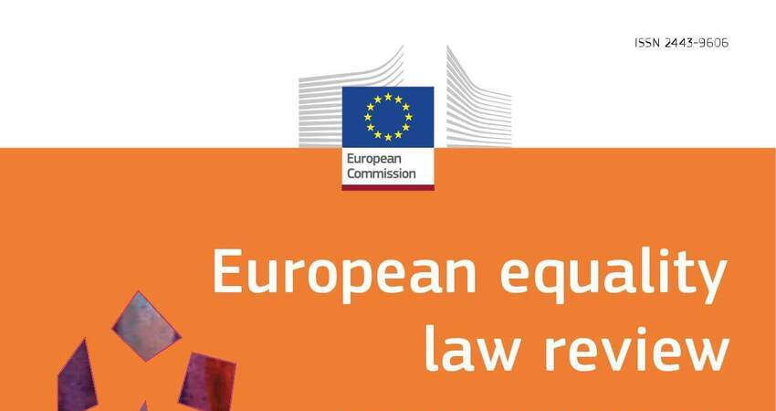 European equality law review – numero 2/2019