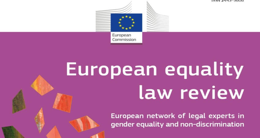 European equality law review – numero 1/2020