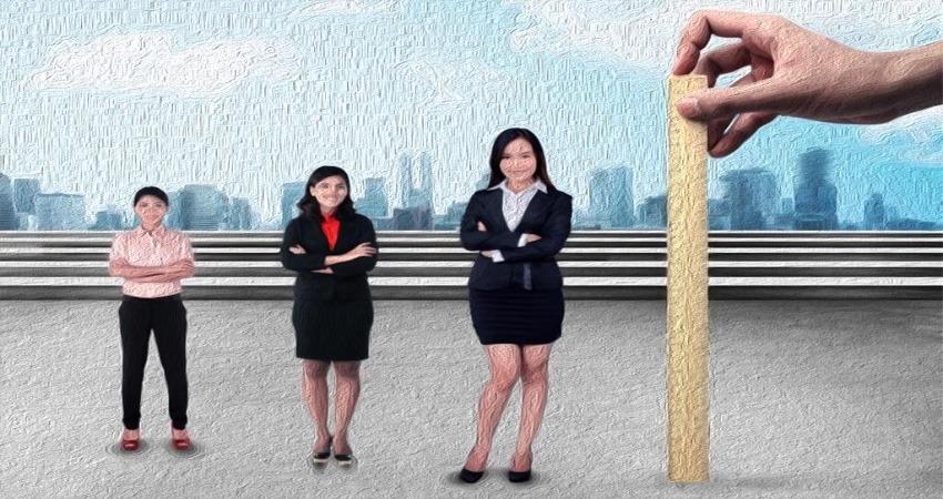 È discriminatorio differenziare tra uomini e donne in base alla statura
